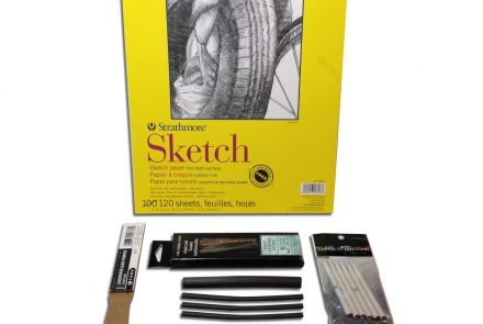 Drawing with Charcoal 101 Kit