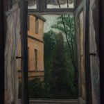 Linda Wehrli Oil French Window Study