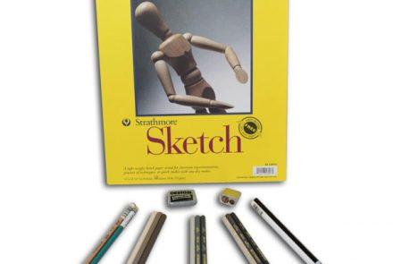 Gray Colored Pencil 101 Kit