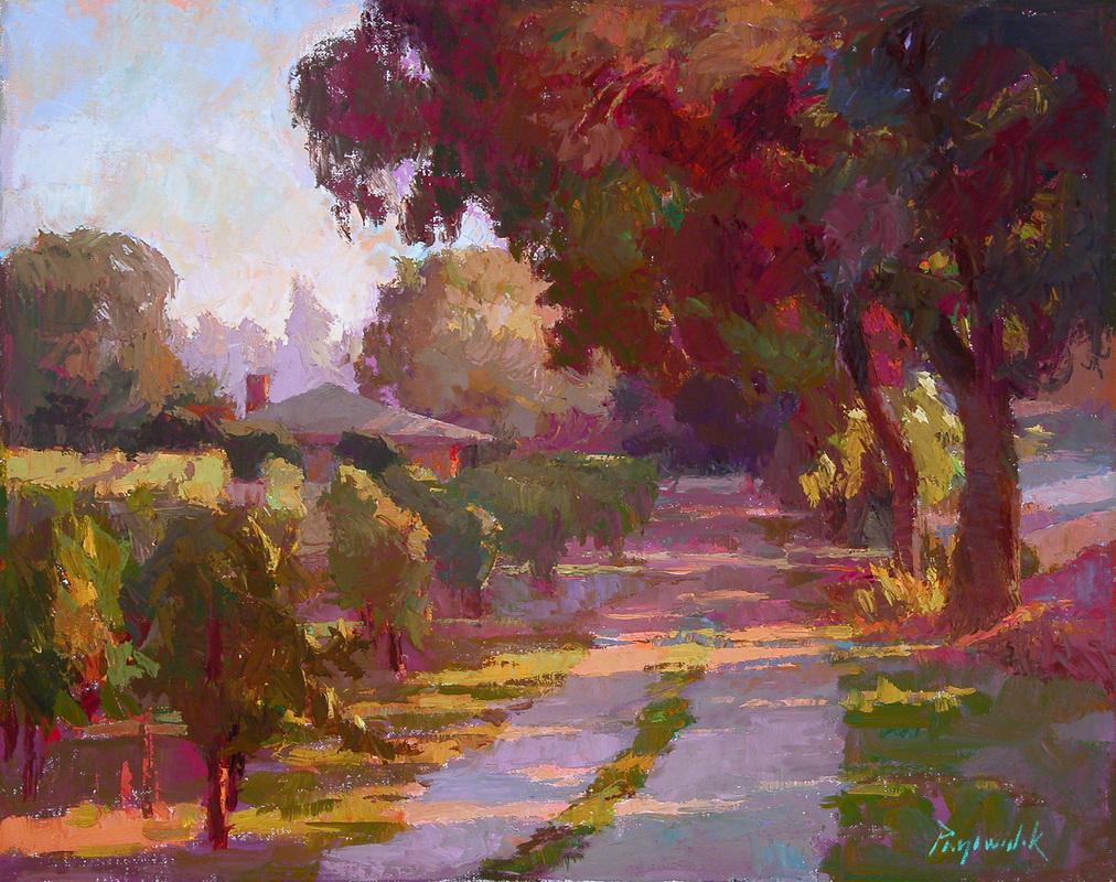 Henry Hensche Paintings In Art Magazine