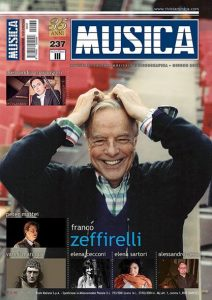 Musica Magazine's cover includes photo of Alessandro Vena.