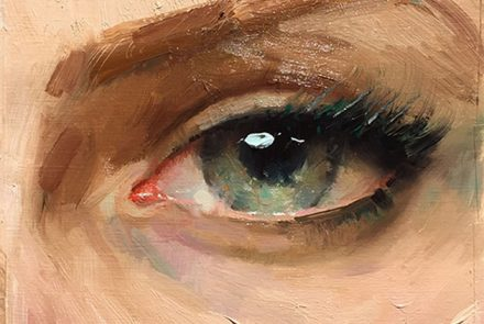 """How to Paint the Eye"" Workshop with Ignat Ignatov"