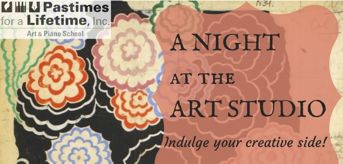 A Night at the Art Studio, fundraiser for CoachArt