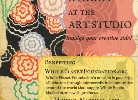 A NIGHTat theART STUDIO charity event hosted by Pastimes for a Lifetime