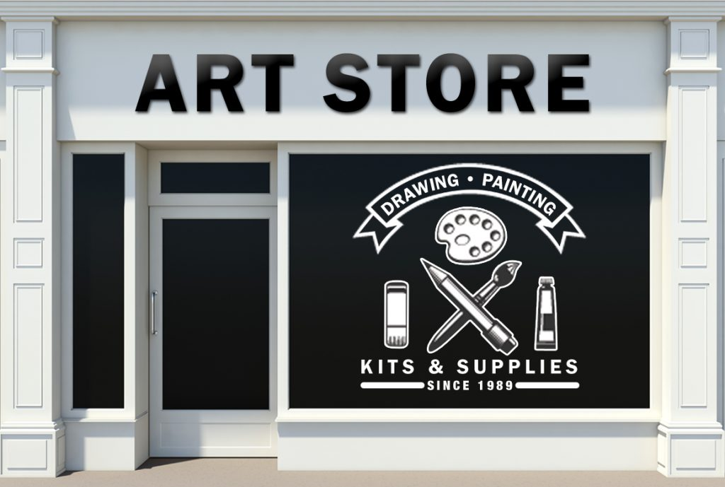Art Store at Pastimes for a Lifetime