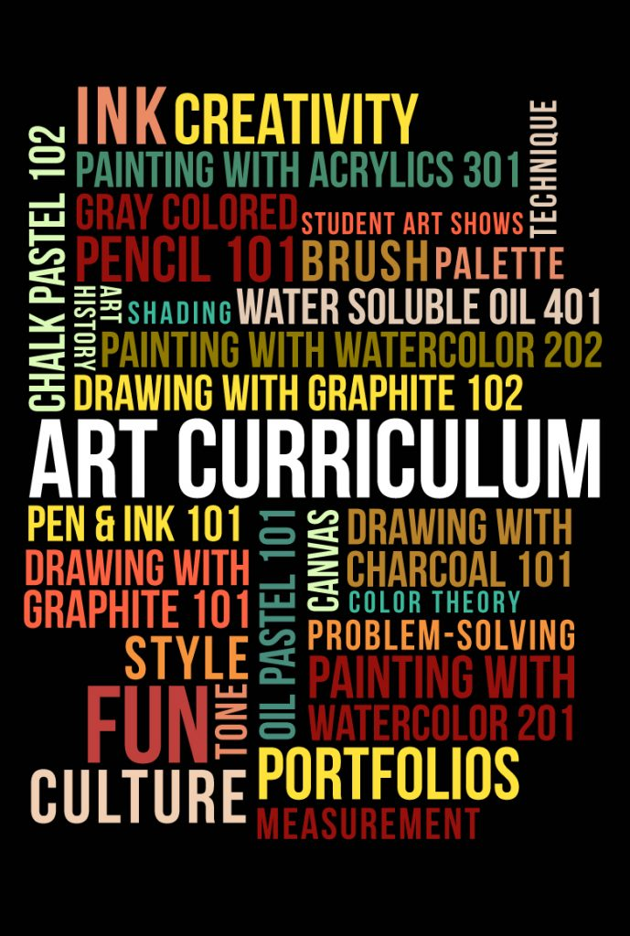 Art Curriculum at Pastimes for a Lifetime