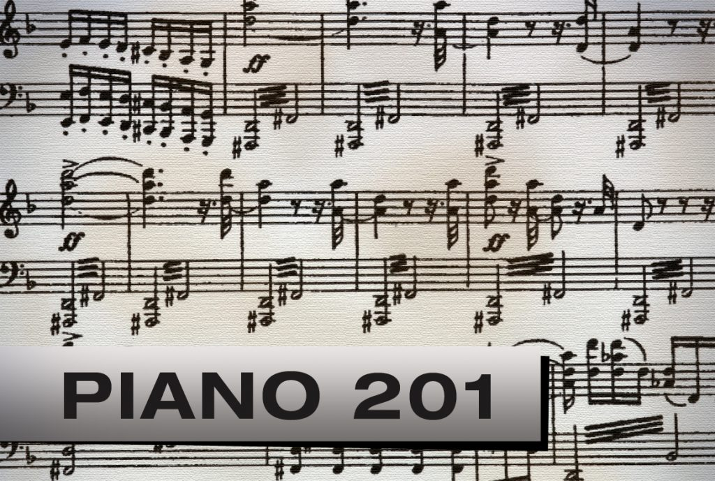 Piano 201, Advanced Level Piano Lessons at Pastimes for a Lifetime