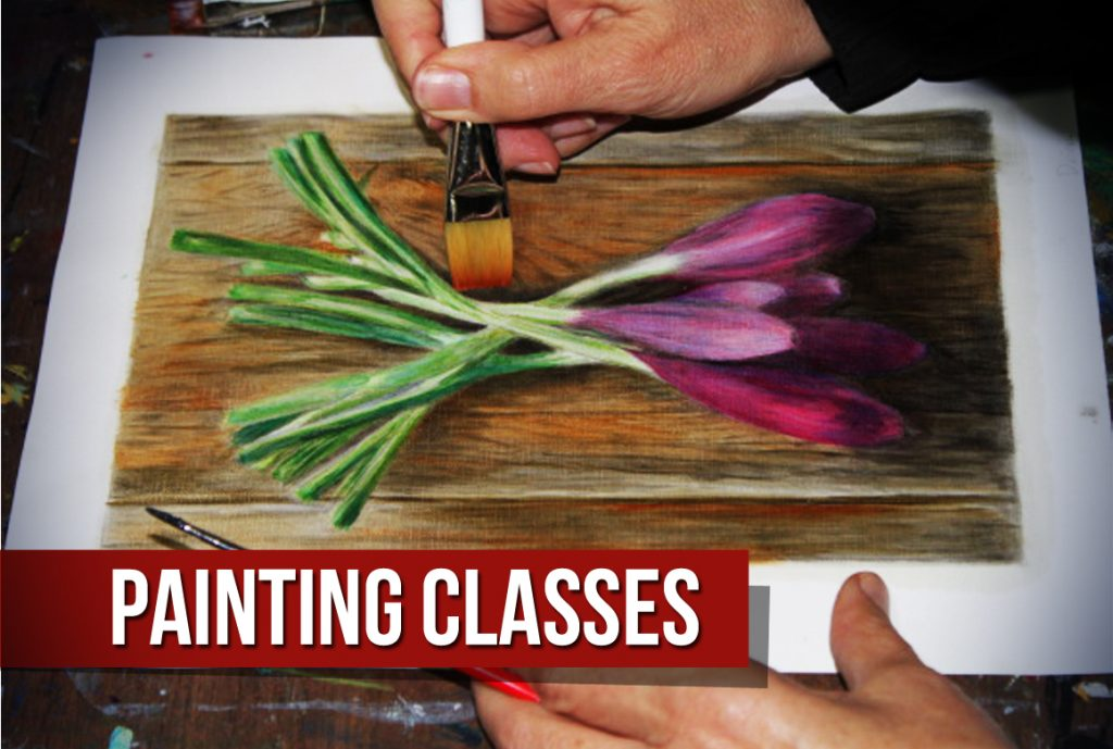 Painting Classes at Pastimes for a Lifetime