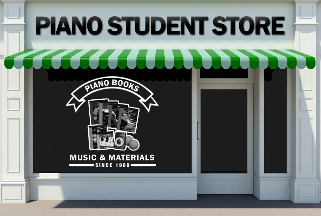Piano Student Store at Pastimes for a Lifetime