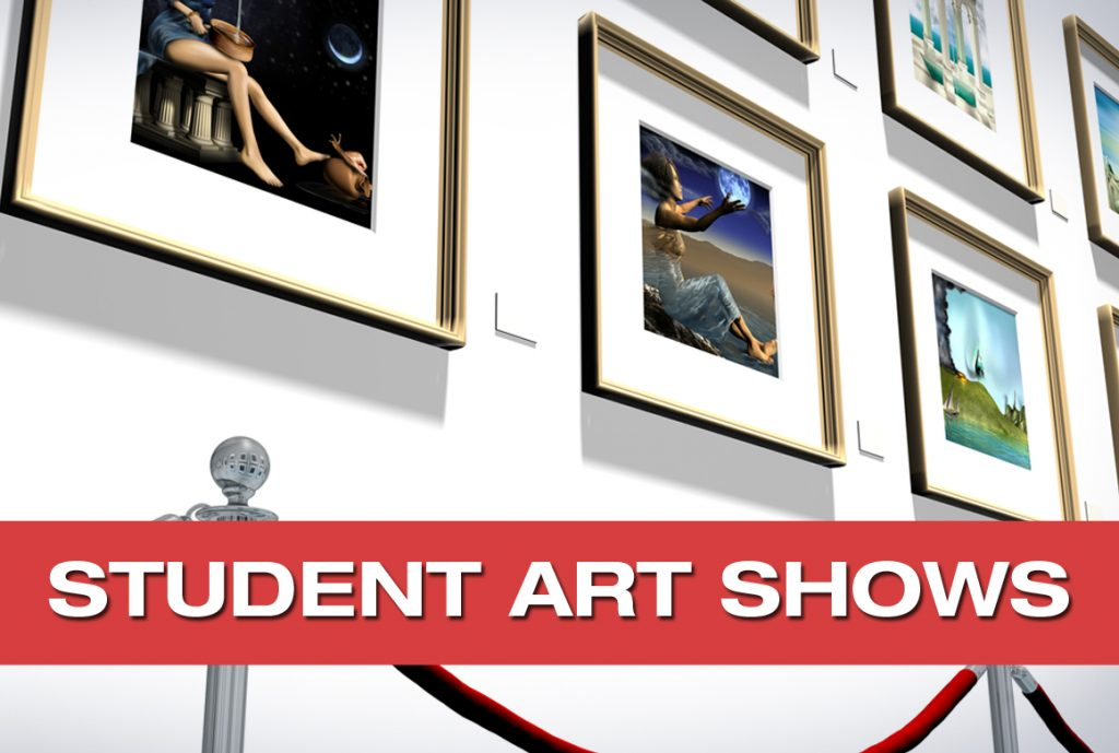 Student Art Shows by Pastimes for a Lifetime
