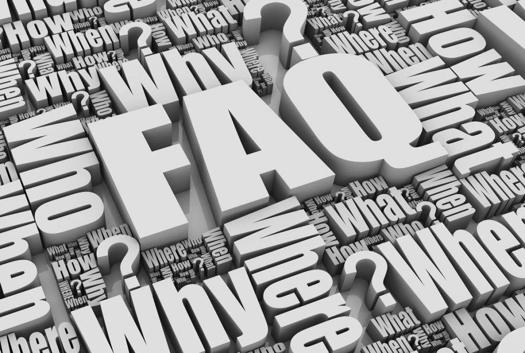 Frequently Asked Questions at Pastimes for a Lifetime