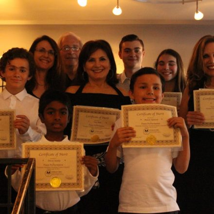 june 14, 2015 Student Recital hosted by Pastimes for a Lifetime