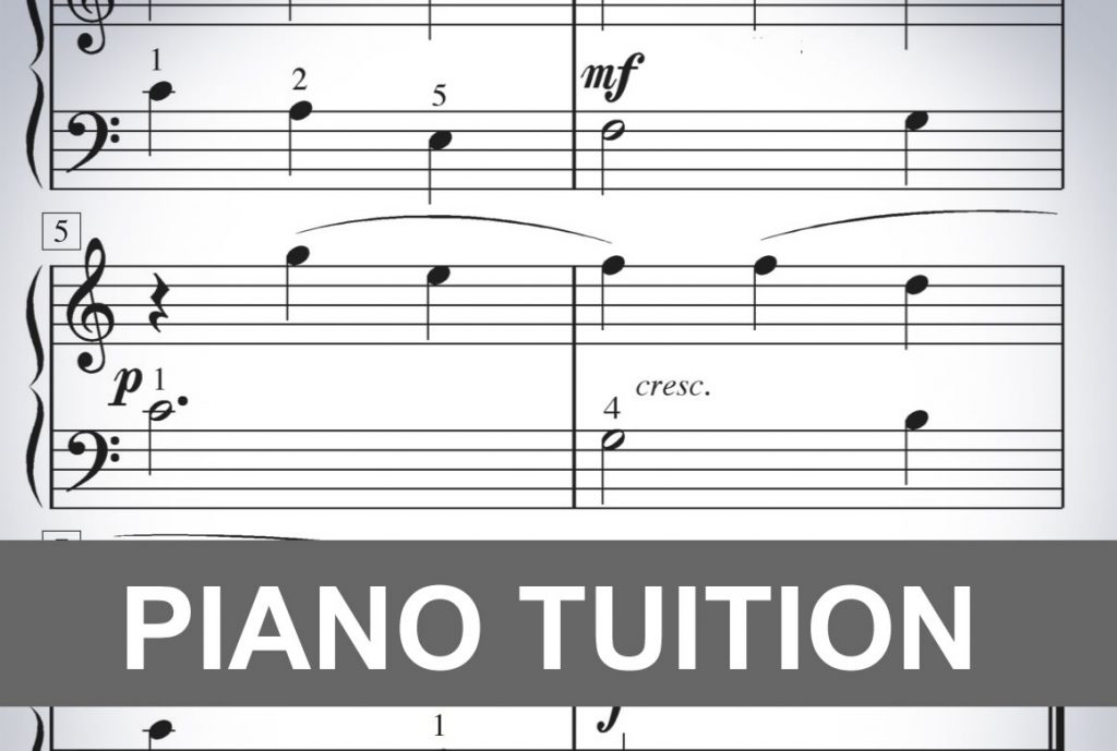 Piano Tuition at Pastimes for a Lifetime