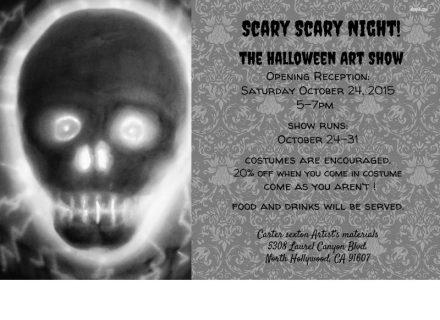 Carter Sexton Gallery Halloween Art Show