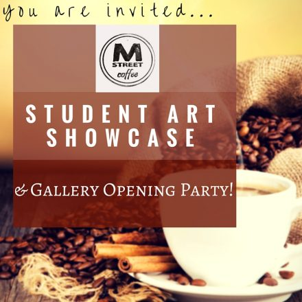 M Street Coffee Gallery Hosts Pastimes for a Lifetime Student Art Showcase