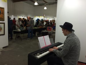 Cameron Carr Performs at the SFVACC Winter Holiday Faire