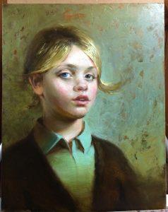 Regina Lyubovnaya Portrait Study