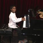 Dhruv R. on piano