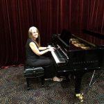 Linda Wehrli on piano
