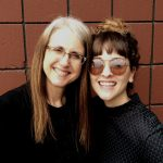 Linda Wehrli with office manager, Jessica Lee Sanders