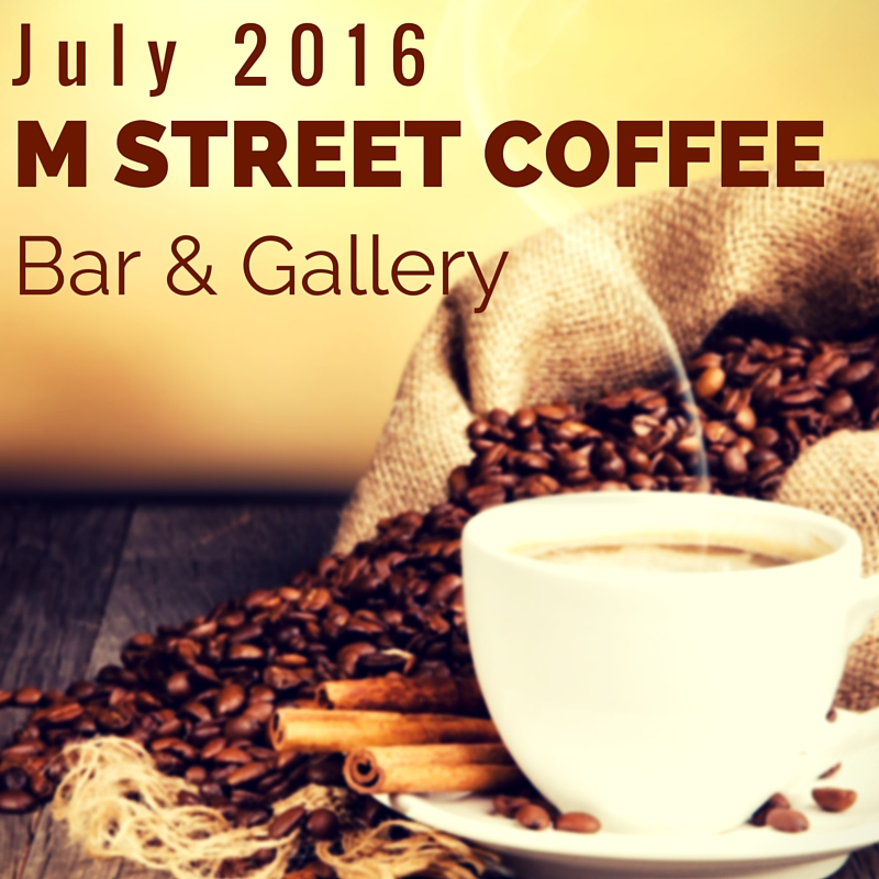 M Street Coffee, M Street Art Show, Pastimes for a Lifetime, Linda Wehrli, Art,