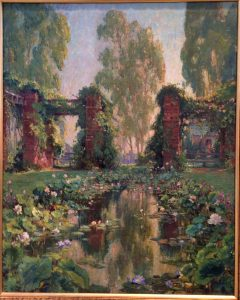 The Lotus Pool, El Encanco, Santa Barbara circa 1921-22 Oil on canvas Colin Campbell Cooper