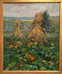 Corn Stalks and Pumpkins, Ben Foster