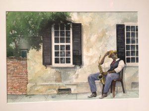 "John Athey: ""Street Musician"""