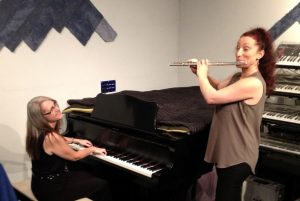 Ljiljana Lukic on Flute & Linda Wehrli on Piano