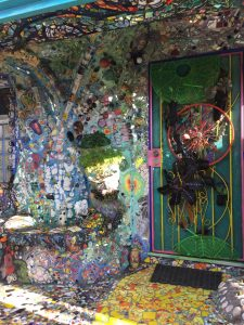 Mosaic Tile House Door