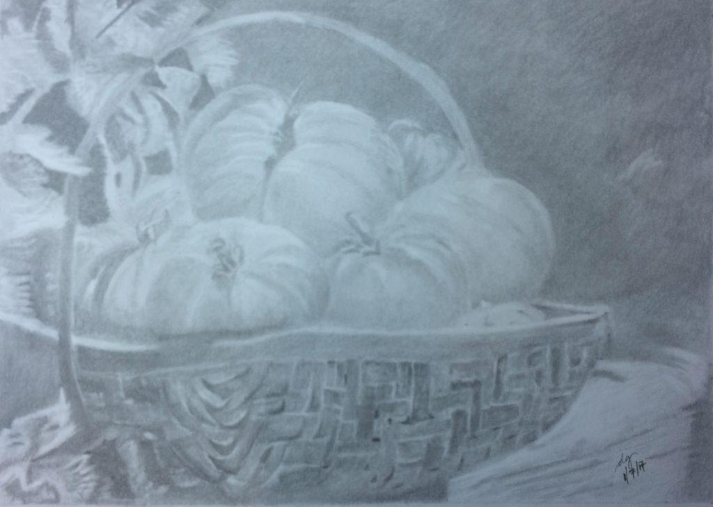 Dorothy G Graphite Tomato Basket