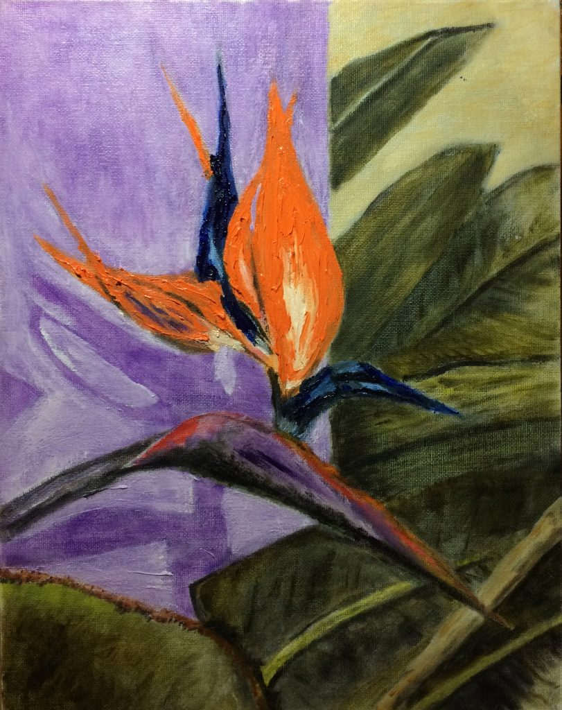 Lewis W., Bird of Paradise, Oil