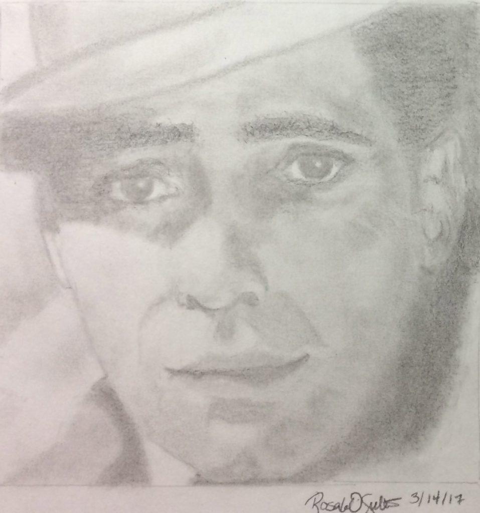 Rosaleen O., Humphrey Bogart, Graphite