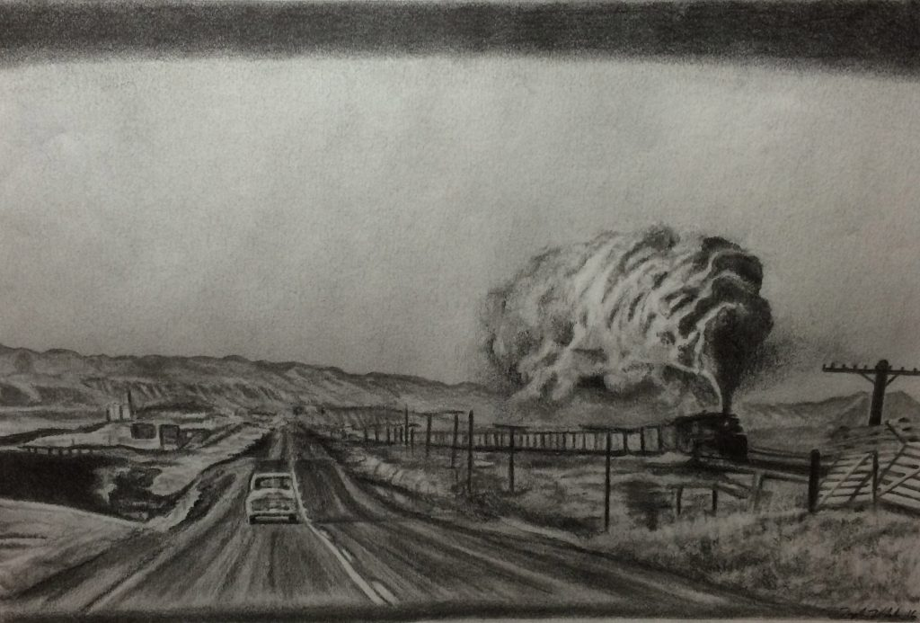 "Taylor V., ""The Road"", Graphite"
