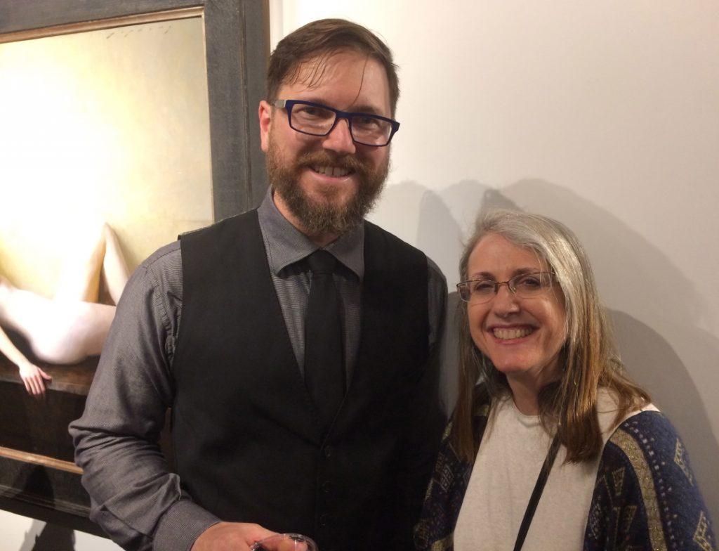 Jeremy Lipking and Linda Wehrli