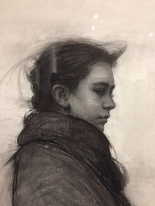 "Charcoal for ""Rain Shadow"" by Jeremy Lipking"