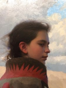 """Rain Shadow"" oil by Jeremy Lipking"