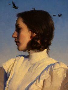 """""""The Shadow Juniper"""" Oil by Jeremy Lipking"""