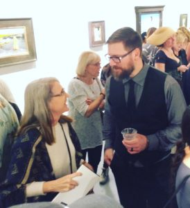 Jeremy Lipking chats with Linda Wehrli, Pastimes for a Lifetime