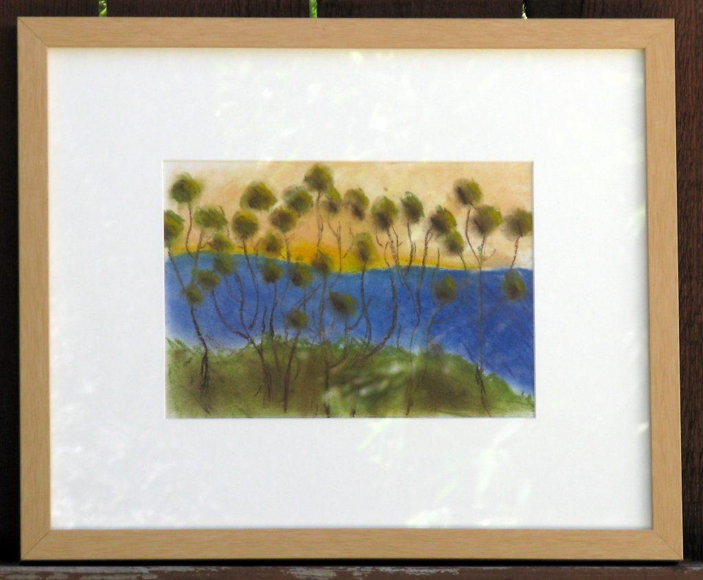 Wolfgang Kahn Pastel Study by Maya Krueger