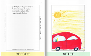 PictureIt!Kids Before and After