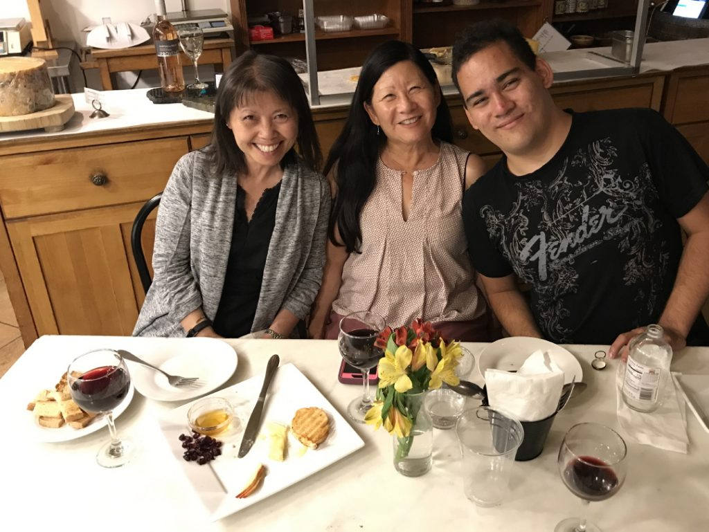 Reiko Nakashima, Frankie Ramos & Friend