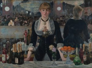 At the Bar de Folies-Bergere