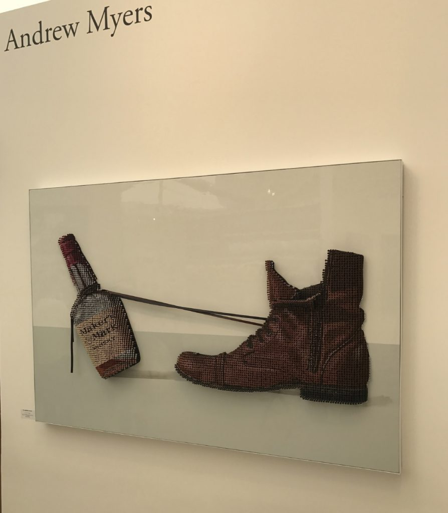 Laguna Beach Festival of Arts Andrew Myers Bottle & Shoe