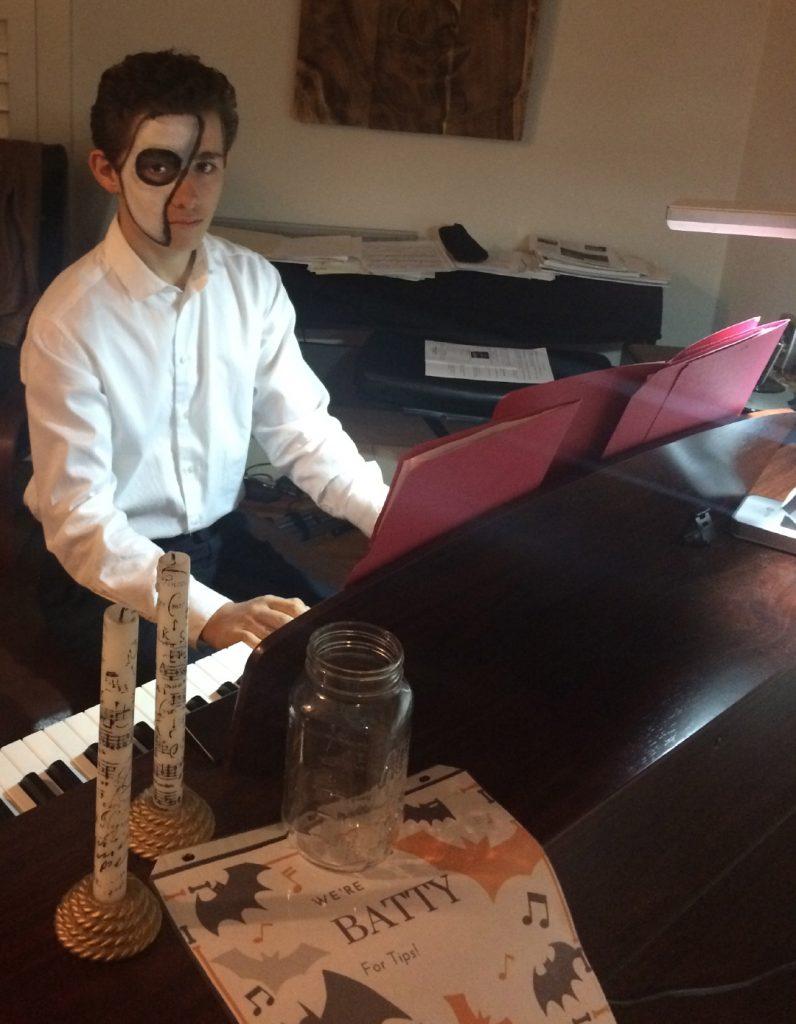 Aidan C. Plays Piano