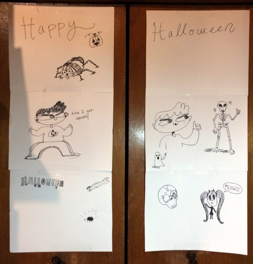 Guest Drawings at Pastimes for a Lifetime's 2017 Halloween Party