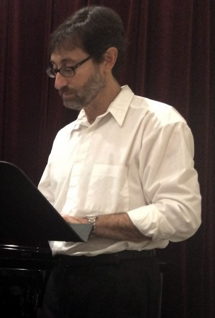 Barry Michael Wehrli, Master of Ceremonies, Pastimes for a Lifetime Student Piano Concert