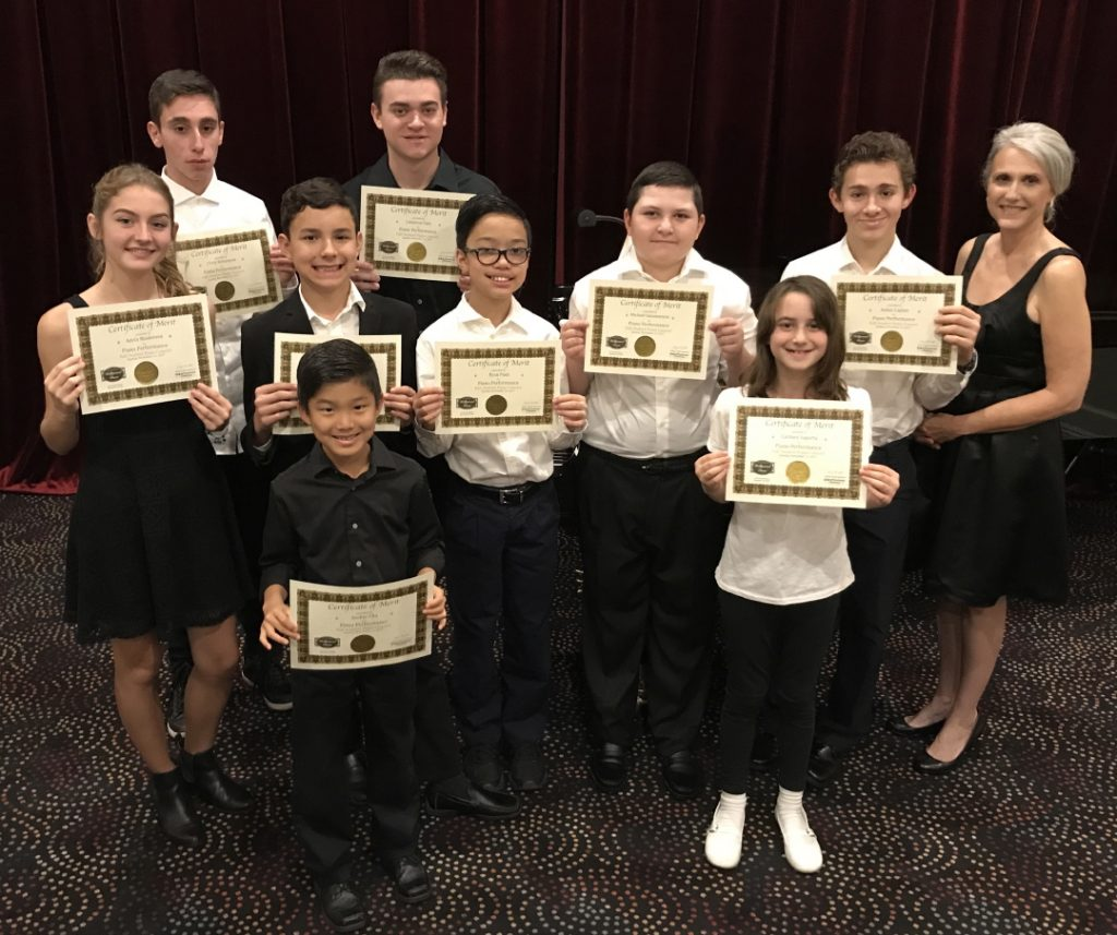 2017 Fall Student Piano Concert, Pastimes for a Lifetime