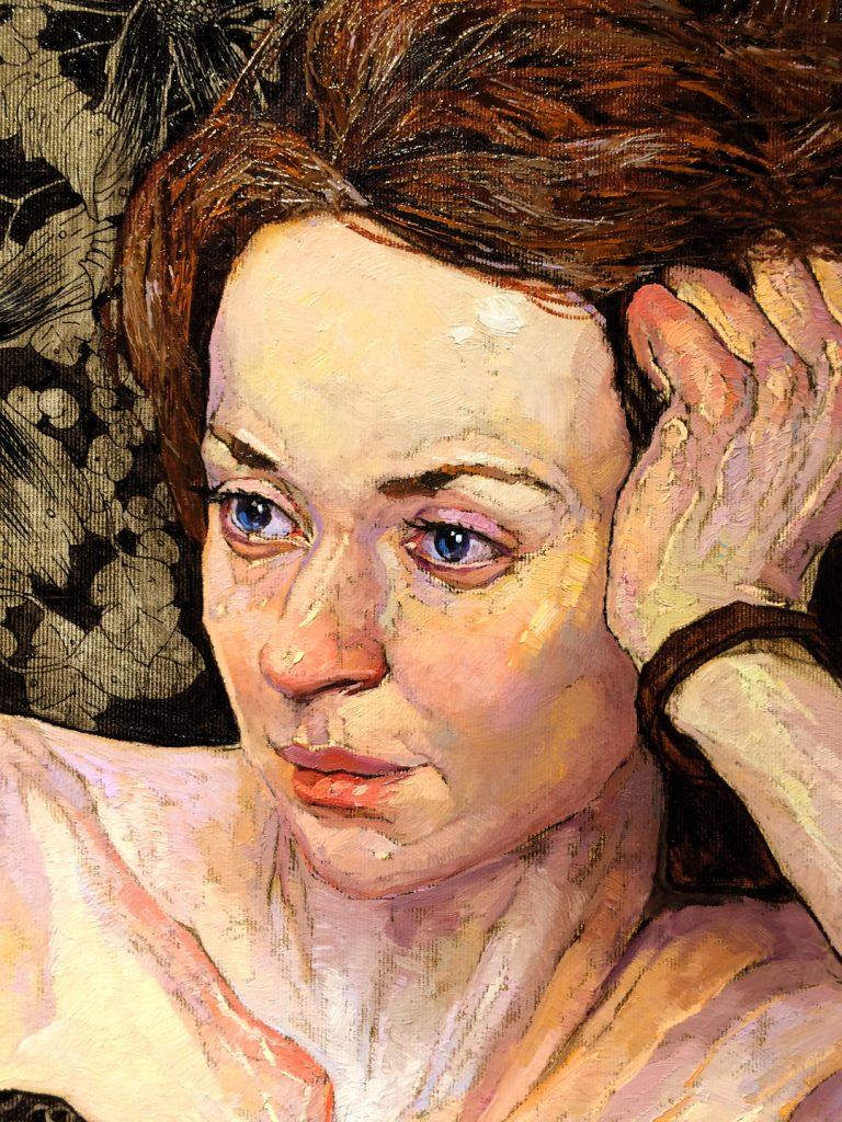 """Masha"" Portrait Close up, Denis Sarazhin"