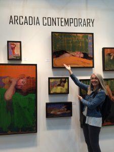 Linda Wehrli visits Arcadia Contemporary at the 2018 LA Art Show